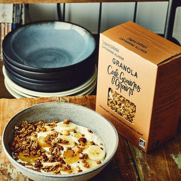 Granola au café, graines et grains bio
