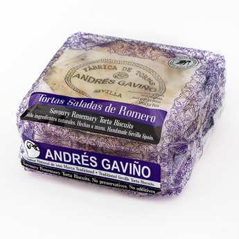 Andres Gavino - Galettes au romarin - Tortas saladas de romero