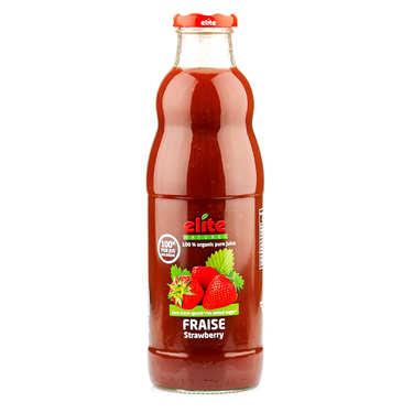 Pur jus de fraise bio