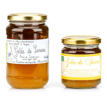 Elderberry Flowers Jelly from Cévennes