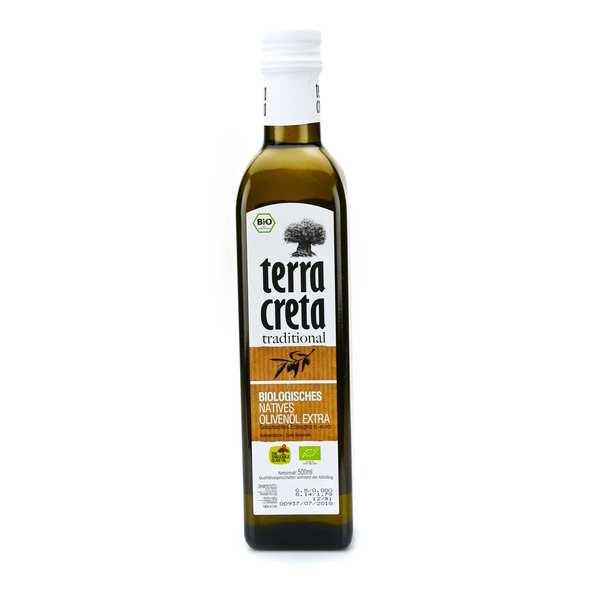 Huile d'olive vierge extra de Crète BIO