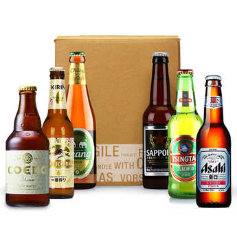 - 6 Asian Beers Discovery Box (March)