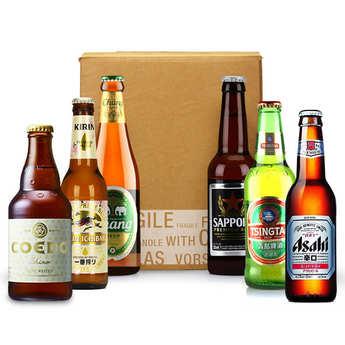 - Box découverte de 6 bières asiatiques (mars)
