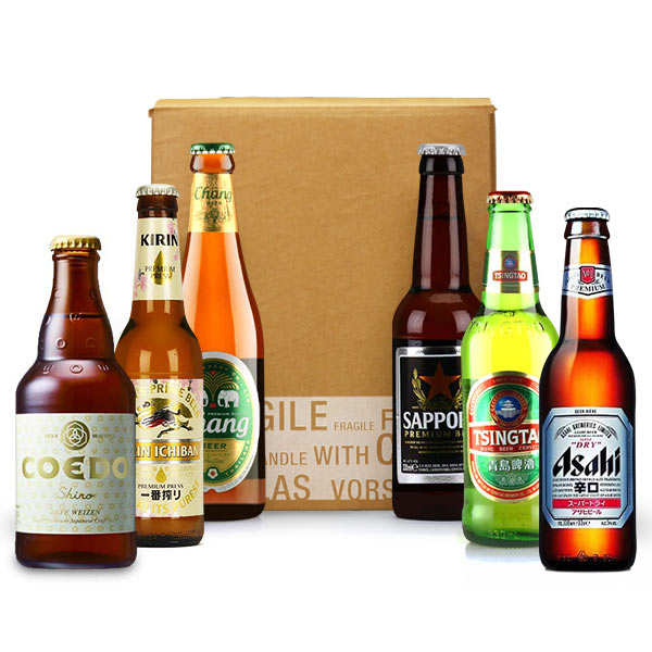 6 Asian Beers Discovery Box (March)