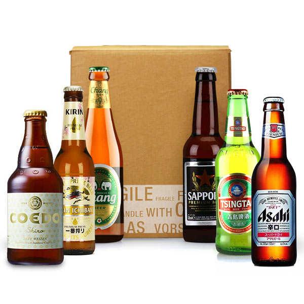 Box découverte de 6 bières asiatiques (mars)