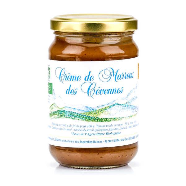 Crème de marrons des Cévennes bio