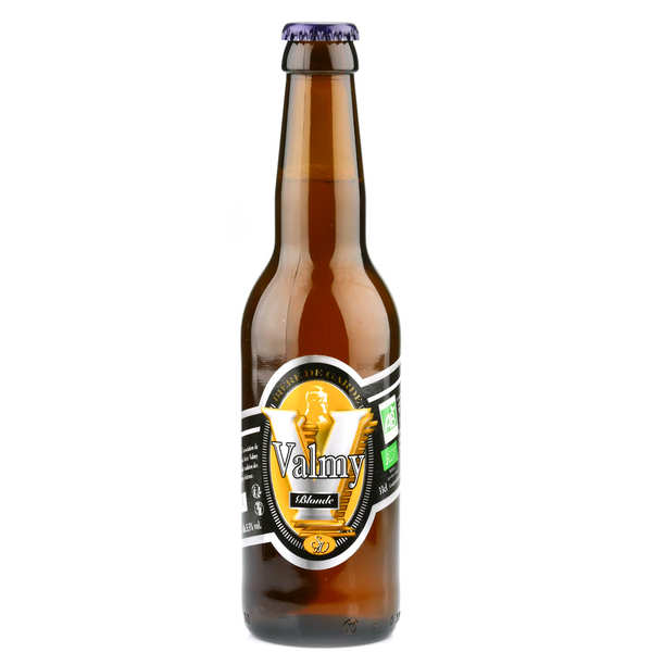 Bière Valmy blonde bio 5.5%