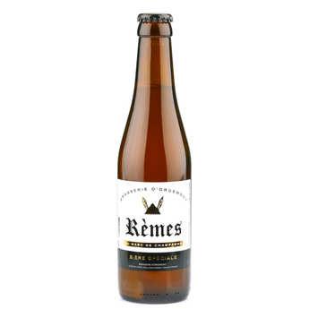 Brasserie d'Orgemont - Bière Rèmes spéciale au marc de Champagne 6%