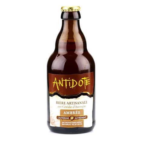 L'Auvergne Autrement - Bière ambrée d'Auvergne - Antidote (Gentiane et châtaigne) 6%