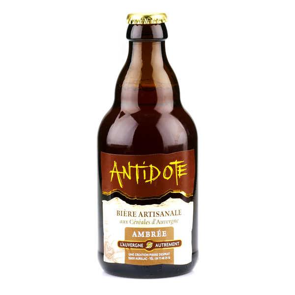 Bière ambrée d'Auvergne - Antidote (Gentiane et châtaigne) 6%
