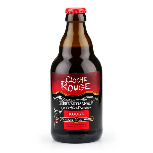 Bière rouge d'Auvergne - Cloche rouge (Baies et houblon) 6%