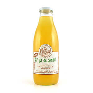 Les Côteaux de Pruines - Pur jus de pommes de l'Aveyron avec pulpe