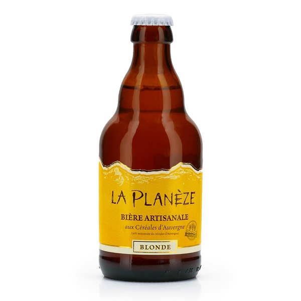 Bière blonde d'Auvergne - La Planèze (Lentille de St Flour) 5%