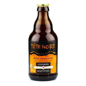 L'Auvergne Autrement - Copper Beer from Auvergne - Tête noire (Cep) 5%
