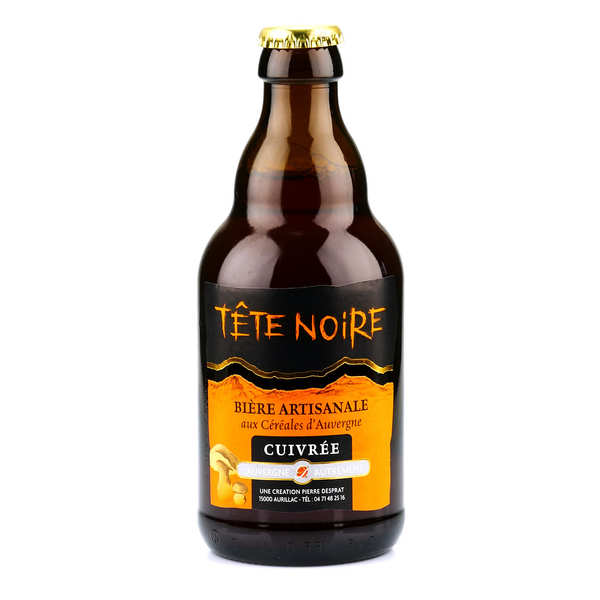 Copper Beer from Auvergne - Tête noire (Cep) 5%