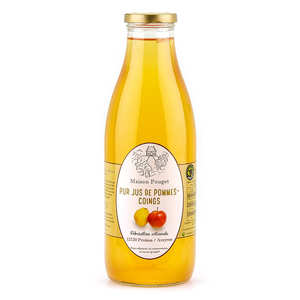 Les Côteaux de Pruines - Jus de pommes-coings