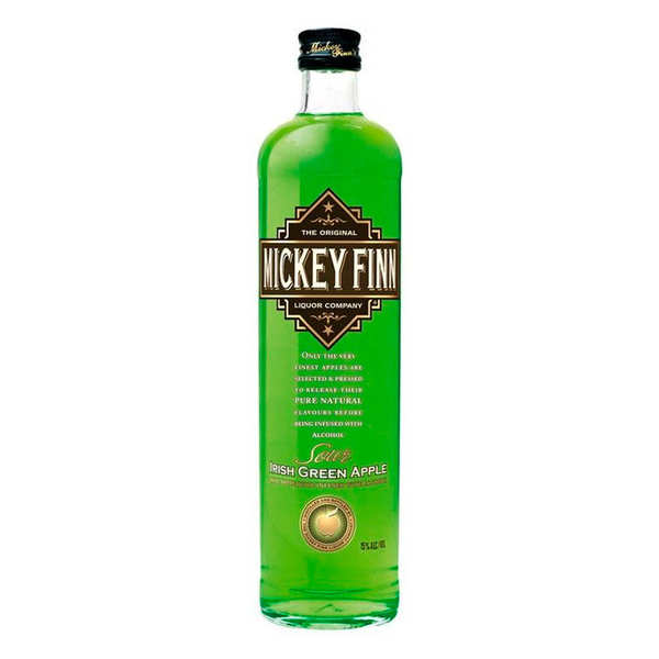 Mickey Finn's Irish Green Apple Liqueur