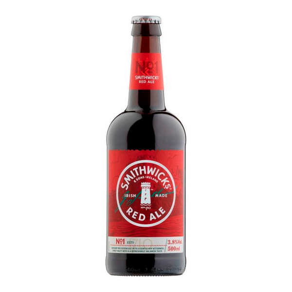Smithwicks Superior Red Ale - Irish Beer 3.8%