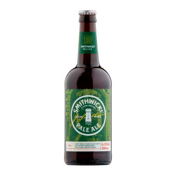 Smithwicks Pale Ale - Irish Beer 4.5%