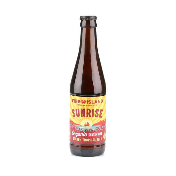 Sunrise - Organic and Gluten Free Golden Beer from Wales  4,4%
