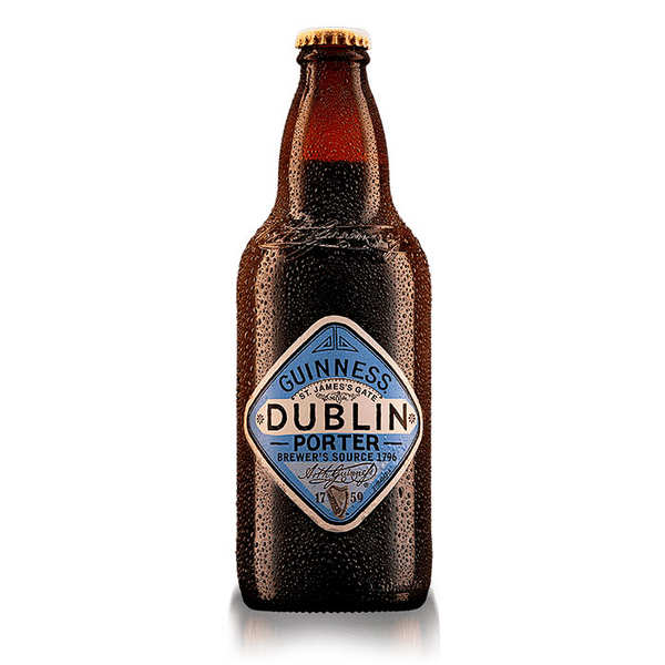 Guinness Dublin Porter - bière irlandaise 3.8%