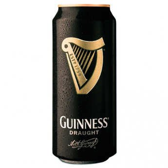 Brasserie Guinness - Guinness Draught - bière irlandaise en canette (bille) 4.2%