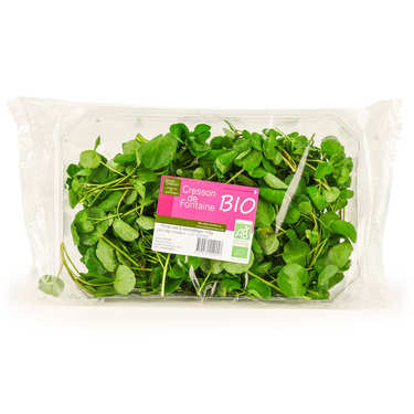 Organic Fresh Watercress from France