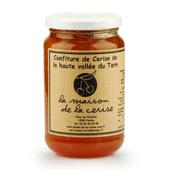 La Maison de la cerise - Withe Cherry Jam from France