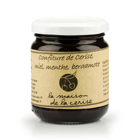 La Maison de la cerise - Cherry Jam with Bergamot from France