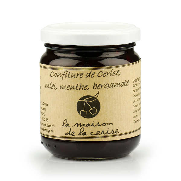 Cherry Jam with Bergamot from France