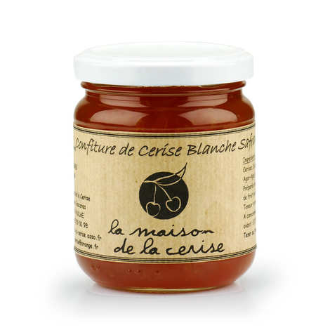 La Maison de la cerise - Withe Cherry Jam with Saffron from France
