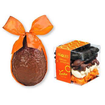 Voisin chocolatier torréfacteur - Assortiment de chocolats de Pâques Voisin