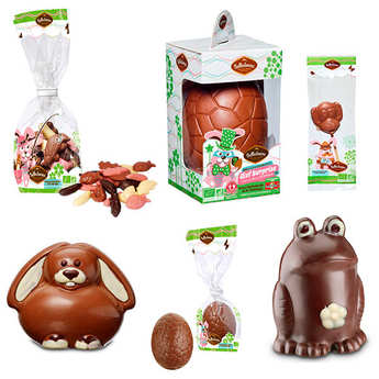 Belledonne Chocolatier - Organic easter chocolates discovery offer