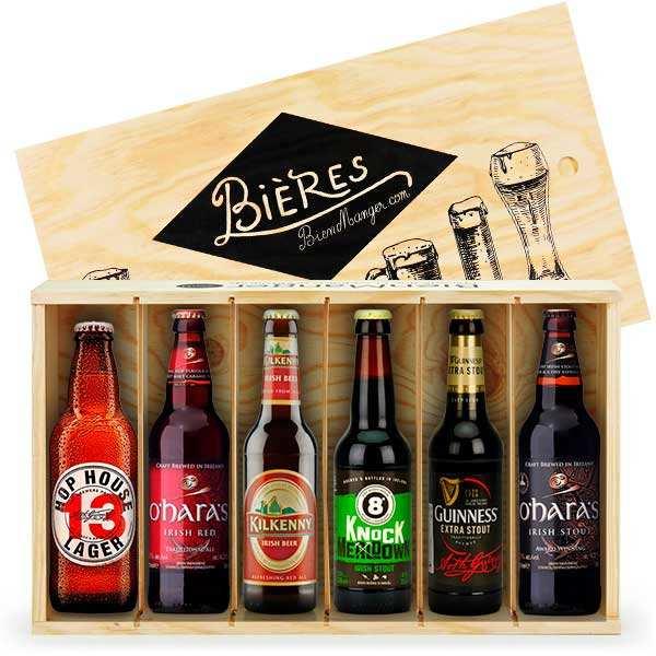 Caisse de 6 bières irlandaises