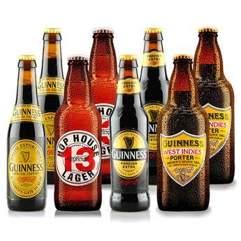 Brasserie Guinness - Assortiment de 10 bières irlandaises Guinness
