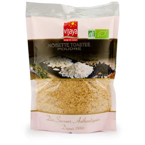 Vijaya - Organic Toasted Hazelnut in Powder