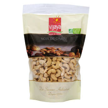 Vijaya - Organic non Salted Shelled Cashew Nut