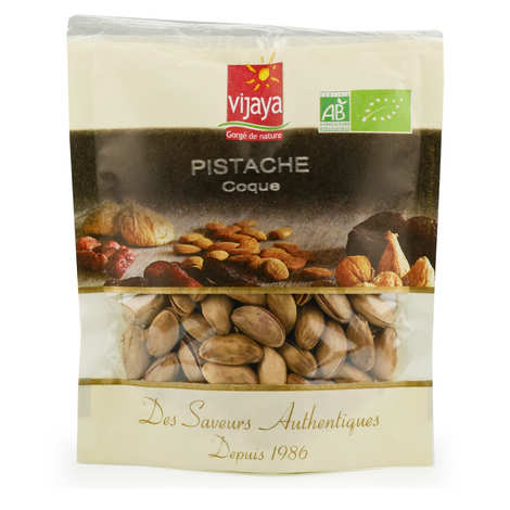 Vijaya - Organic non Salted and non Grilled Pistachio with Shell