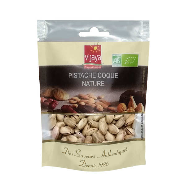 Organic non Salted and non Grilled Pistachio with Shell