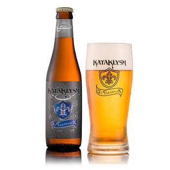 Brasserie Eutropius Heule - St.Tabarnak Kataklysm - Bière blonde belge 6.66%