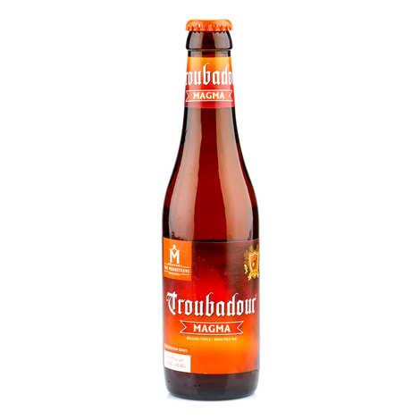 Bière Troubadour - Troubadour Magma - Bière ambrée belge 9%