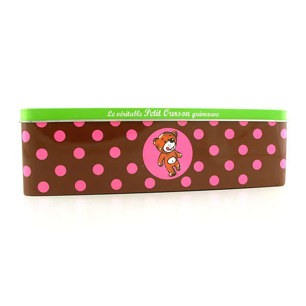 Le véritable petit ourson guimauve - Boîte tendre amour