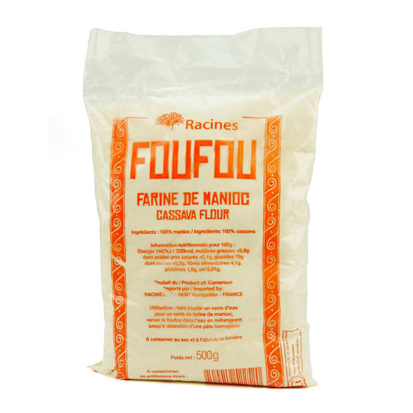 Farine de manioc du Cameroun