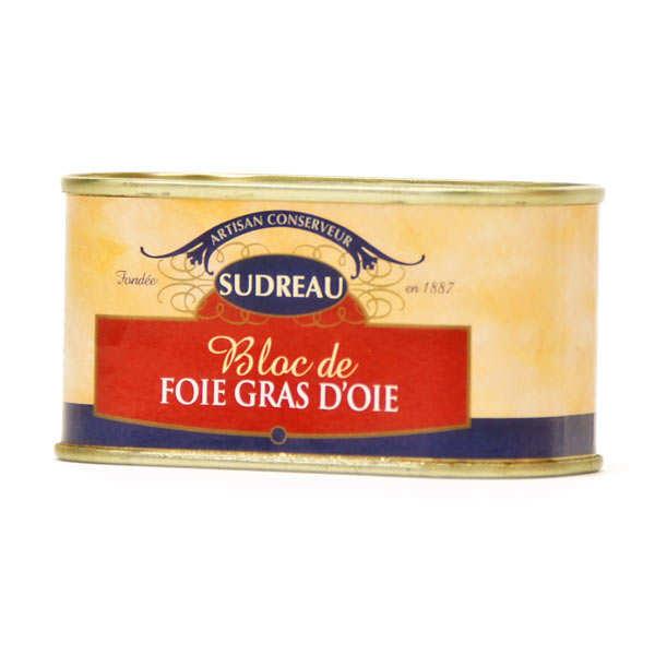 Block of Goose Foie Gras by Jean-François Sudreau