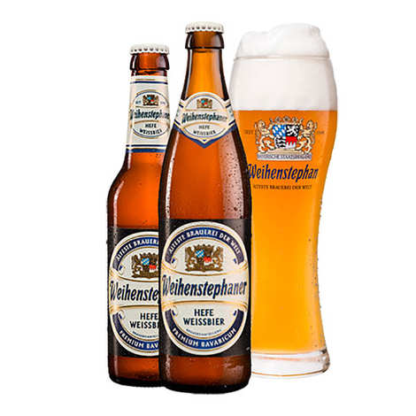 Weihenstephaner - Weihenstephaner Hefe Weissbier- bière blonde allemande 5.4%