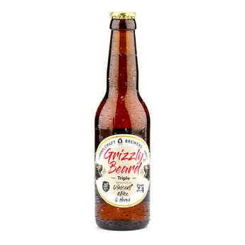 CRAFT HOME BREWERS - Grizzly Beard - Bière triple de France 8.9%