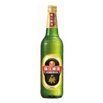 Pearl River Beer - Pearl River 12°P - Bière blonde de Chine 4.9%