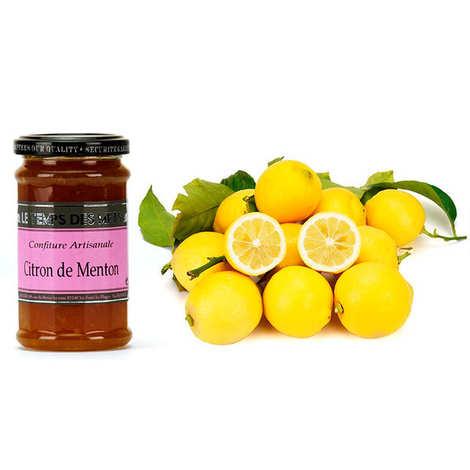 - Assortiment citrons de Menton IGP et leur confiture