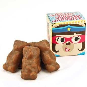 Tasty France - Teddy Bear Marshmallows in cube box