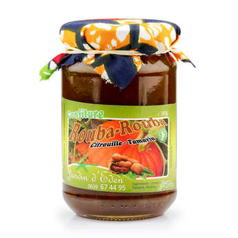 Jardin d'Eden - Pumpkin and Tamarind Jam from Mayotte